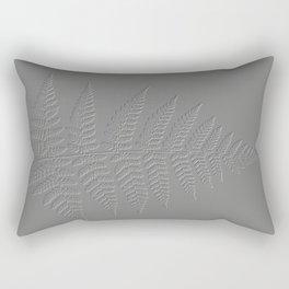 Fern - Embossed design Rectangular Pillow