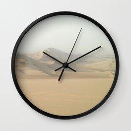 Dreamy Desert Dunes Wall Clock