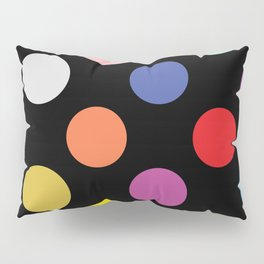 Multicolored Polka Dots Pillow Sham