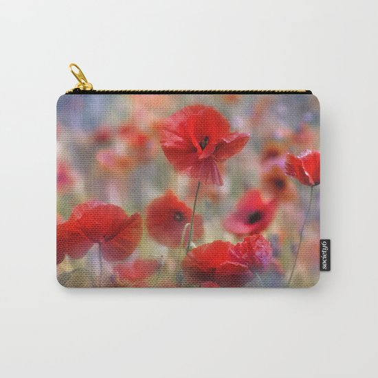 Poppy Tableau Carry-All Pouch