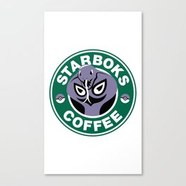 Starboks Coffee Canvas Print