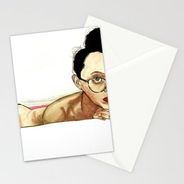 Jane Not Bathing In Blood J/K Stationery Cards