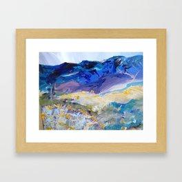 Santa Fe in August Framed Art Print