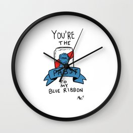 You're The Pabst To My Blue Ribbon Wall Clock