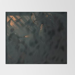 The Hunt Throw Blanket