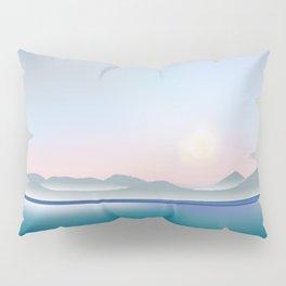 Moon over Puget Sound Pillow Sham