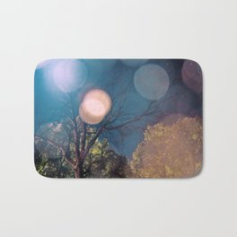 Stars + trees Bath Mat