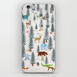 little nature woodland iPhone Skin