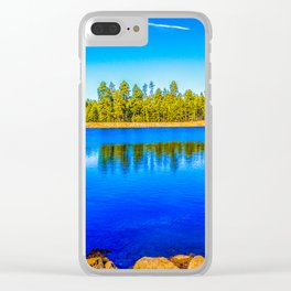 Reflection Lake Clear iPhone Case