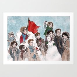 One More Day Before the Snowstorm Art Print