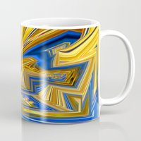alchemy Mugs featuring Attempted Alchemy by David  Gough