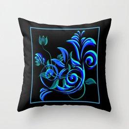 Cabsink16DesignerPatternWGTL Throw Pillow