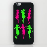 gilmore girls iPhone & iPod Skins featuring Girls by Derek Eads