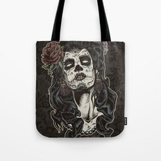 Day of The Dead Woman Tote Bag