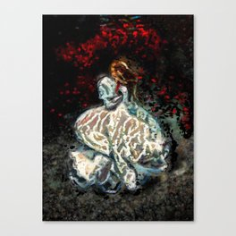 Find solace Canvas Print