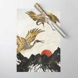 Elegant Flight II Wrapping Paper