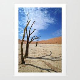 Deadvlei, Namibia Art Print
