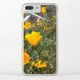 Amarillas Clear iPhone Case