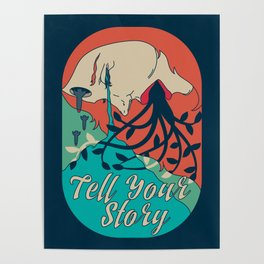Tell Your Story Poster