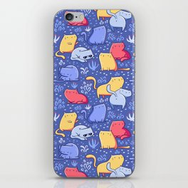 A Lot of Cats / Out at night iPhone Skin