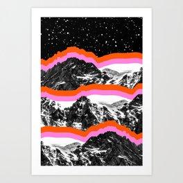 Moon Shot Art Print