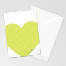 I love you this much... (green) Stationery Cards