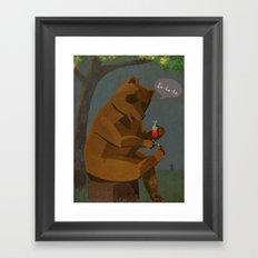 Mrs. Bear Framed Art Print