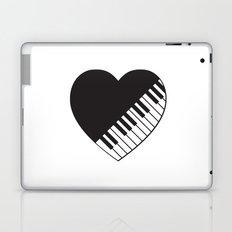 Piano Heart Laptop & iPad Skin