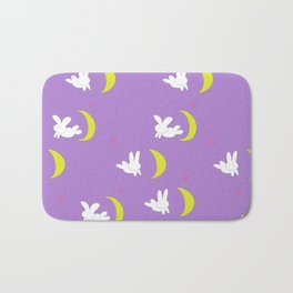 Usagi (Sailor Moon) Bedspread Bunny and Moon  Bath Mat