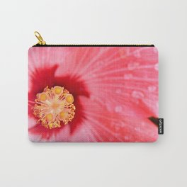 Pink Rain Orange Pollen Carry-All Pouch