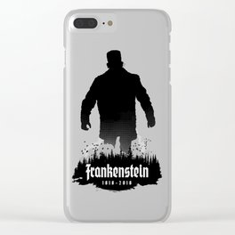 Frankenstein 1818-2018 - 200th Anniversary Clear iPhone Case