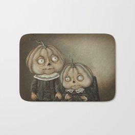 Rucus Studio Ghoul Kids Pumpkins Bath Mat