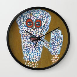 Good Bye Weekend Wall Clock