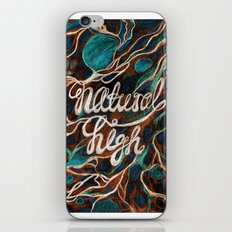 Natural High iPhone & iPod Skin