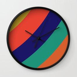Color Bows Wall Clock