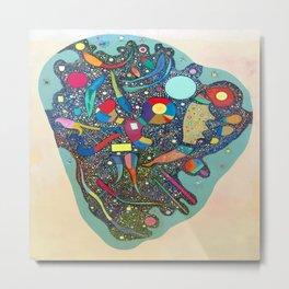 Wassily Kandinsky Colorful Ensemble Metal Print