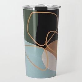 Geometric cosmos Travel Mug
