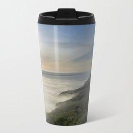 Big Sur California Coast - Sunset Metal Travel Mug