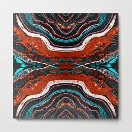 Copper Breeze Metal Print