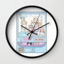 Cat Claw Machine Wall Clock