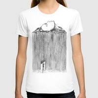 rain T-shirts featuring rain by Gerard Russo
