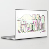 tokyo Laptop & iPad Skins featuring Tokyo by Ursula Rodgers