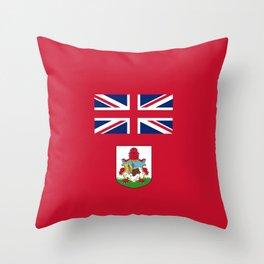 Flag of Bermuda Throw Pillow