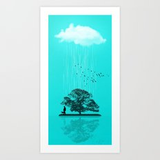 One Tree Hill Art Print