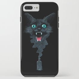 Black Cat Magic iPhone Case