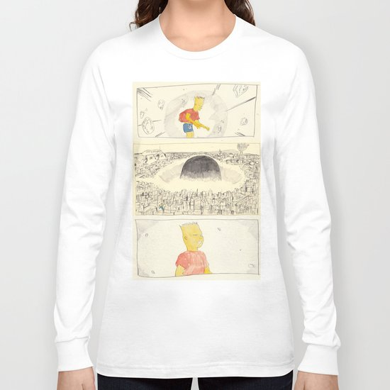 the destruction of neo-springfield Long Sleeve T-shirt