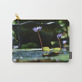 Flower Refections Carry-All Pouch