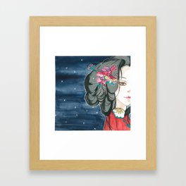 Winter's Destiny Framed Art Print