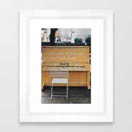 Art for Equality Framed Art Print