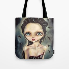 'The girl you left behind' by Zelyss Tote Bag